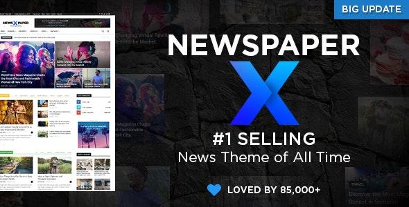 Download Newspaper WordPress Theme free